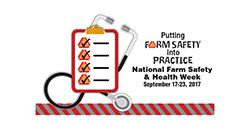 National Farm Safety and Health week Logo