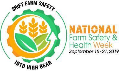 2019 National Farm Safety Health Week logo